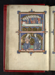 The Dormition And The Coronation Of The Virgin, In 'The Grandisson Psalter'